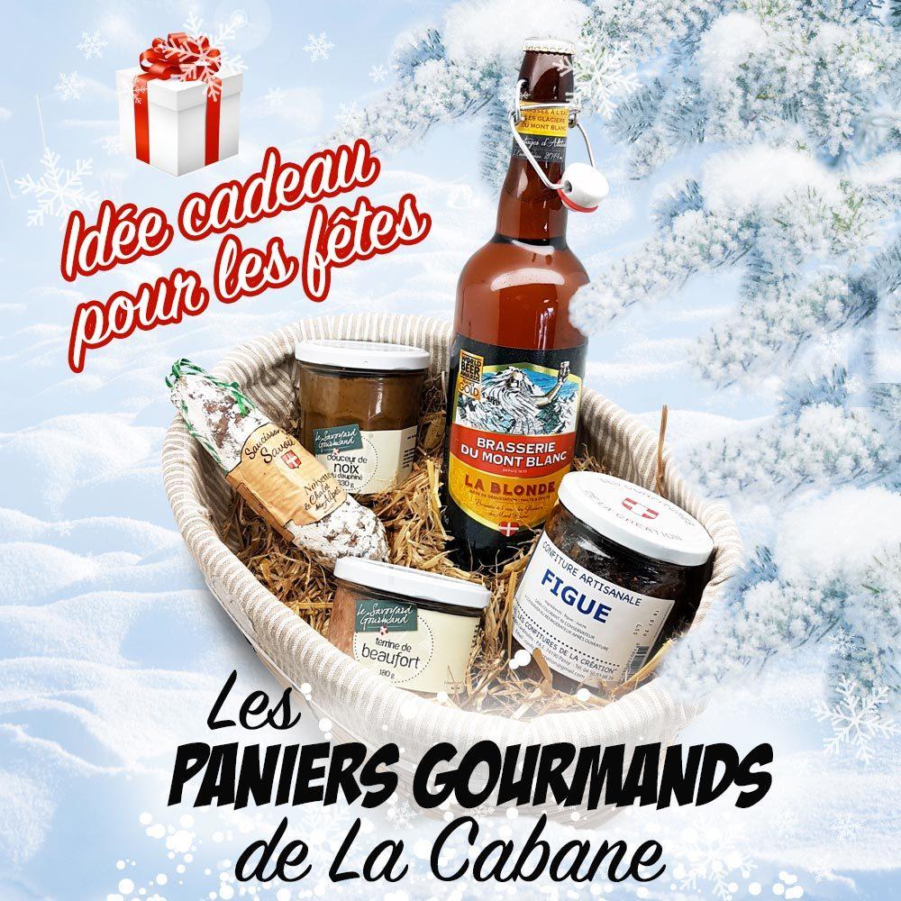 Les paniers gourmands de La Cabane