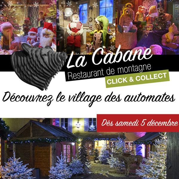 Le village des automates de La Cabane