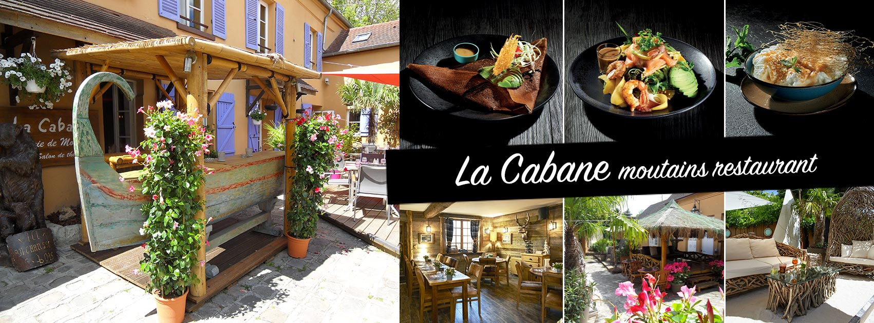 La Cabane moutains restaurant