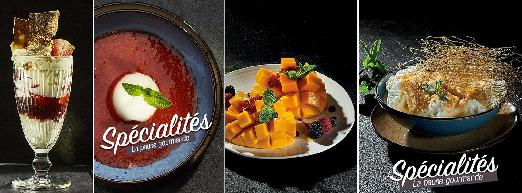 Les desserts de La Cabane